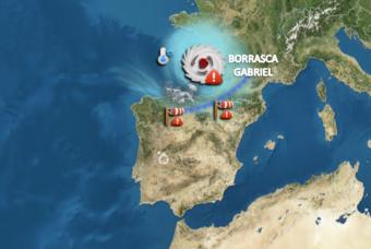 ¿Qué esperamos de la borrasca GABRIEL en La Rioja?
