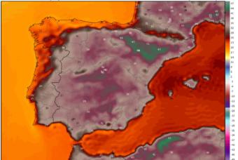 La última semana de junio amenaza con más de 40ºC en el valle del Ebro