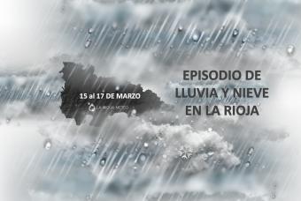 Temporal de lluvia y nieve en La Rioja del 15 al 17 de Marzo´20