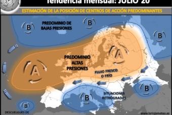 ¿Cómo viene Julio 2020? Estimaciones climatológicas