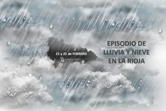 Episodio de lluvia y nieve a cotas medias en La Rioja