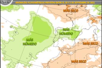 Semana fresca y tormentosa en el Norte y Este de la Península Ibérica