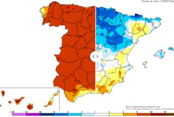 """Semana marcada por el """"calor"""" de la primera mitad y el """"frio"""" de la segunda"""